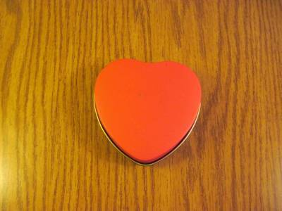 Metal Heart Tin Wild About You image 4
