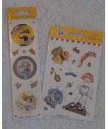 2 Packages Mary Engelbreit Stickers Hannah Paper Doll Style, Cute Seals - $7.91