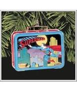 Superman Ornament Lunch Tin '98 Hallmark Keepsake Mint Christmas Super H... - $10.00