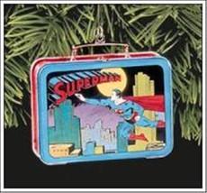 Superman Ornament Lunch Tin Hallmark Keepsake Mint Christmas Super Hero ... - $10.00