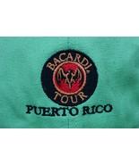 Bacardi Tour Puerto Rico Adjustable Hat Embroidered Cap Bat Logo 100% Co... - $27.08