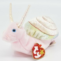 1999 Ty Beanie Baby Original Swirly the Snail Retired Beanbag Plush Toy Doll