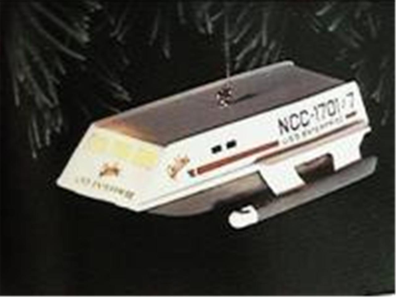 Hallmark Star Trek Enterprise Ornament Spock Speaks Christmas Collectible