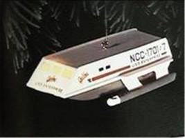 Hallmark Star Trek Enterprise Ornament Spock Speaks Christmas Collectible image 1