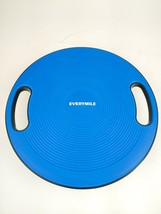 EveryMile Wobble Balance Board with Handles, Blue and Black - £10.93 GBP