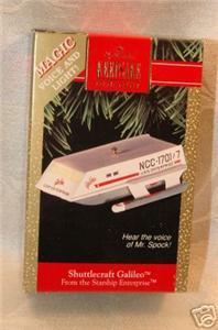 Hallmark Star Trek Enterprise Ornament Spock Speaks Christmas Collectible image 4