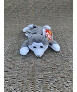 TY Beanie Babies Nanook the Siberian Huskie DOB November 1, 1996 With Ha... - $19.70