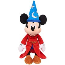 "Mickey Mouse 90th Anniversary The Sorcerer's Apprentice 14"" Musical Plus... - $13.52"