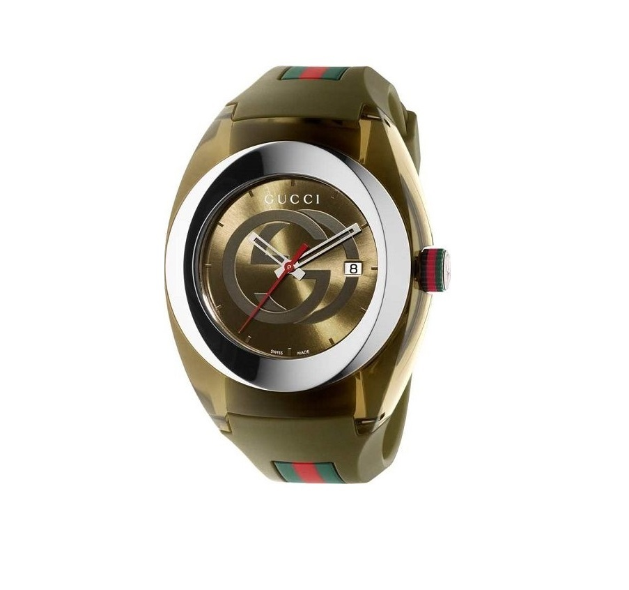 fd2c6dbcaa4 Gucci Sync Xxl Green Rubber Green Dial Watch and 50 similar items