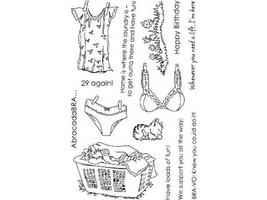 Raisin Boat Put It Delicately Clear Stamp Set #10247