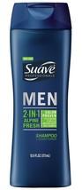Suave Men 2 in 1 Shampoo and Conditioner, Alpine Fresh 12.6 oz - $14.85