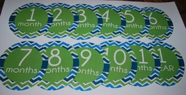 Monthly baby stickers. Neutral gender - $7.49