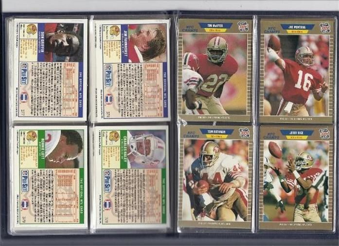 Super Bowl XXIV GTE Special Collectors Limited Edition Superbowl NFC & AFC