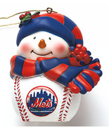 New York Met MLB Musical Lighted Ornament - $9.50