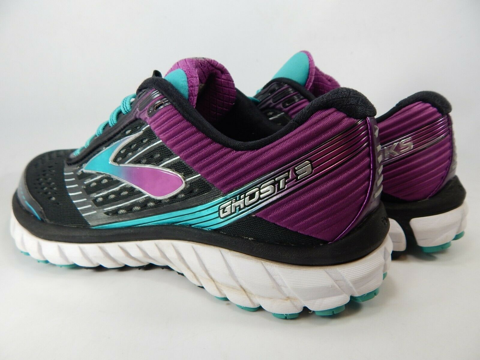 Brooks Ghost 9 Size US 10 M (B) EU 42 Women's Running Shoes Black 1202251B092 image 4