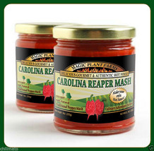 Carolina Reaper Mash   Puree 100% Natural Hot Peppers with Premium Quality!!! - $19.75+