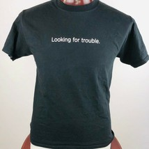 SPLUNK> Looking For Trouble Mens Graphic T Shirt  - $23.75