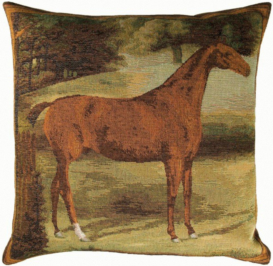 Alezan Horse European Cushion