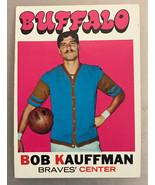 1971-72 Topps #84 Bob Kauffman  Basketball Card  Buffalo Braves - $0.99