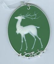 Hallmark Keepsake Santa's Reindeer Christmas Tree Ornament 2011 MIB - $6.79