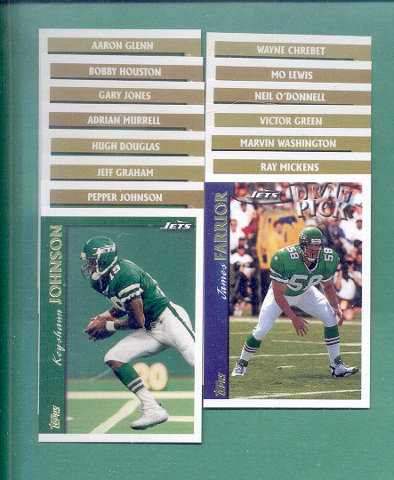 Primary image for 1997 Topps New York Jets Football Set