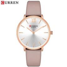 CURREN Women Watches Pink Analog Quartz Clock Female Casual Ladies Wrist Watch S - $37.59