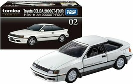Tomica Premium Diecast Model Car No02 - Toyota Celica 2000 GT-Four - $16.05