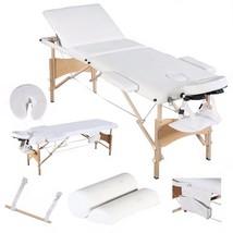 XLarge Reiki Professional Massage Tables Portable PU Case w Free Bolster... - $137.51