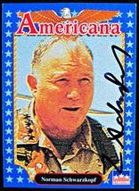 Norman Schwarzkopf Autographed Card - $92.39