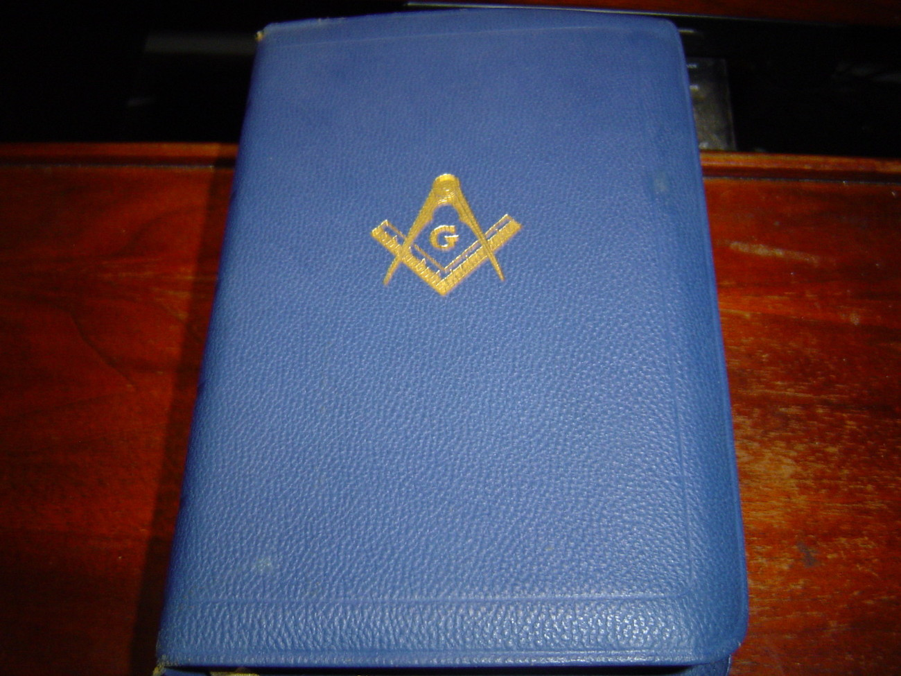 Primary image for MASONIC EDITION HOLY BIBLE & KING SOLOMON'S TEMPLE IN MASONRY BLUE LEATHER