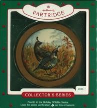 1985 - New in Box - Hallmark Christmas Keepsake Ornament - Partridge - $3.95