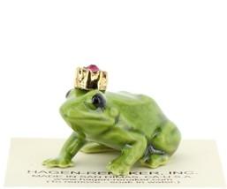 Birthstone Frog Prince January Simulated Garnet Miniatures by Hagen-Renaker image 1