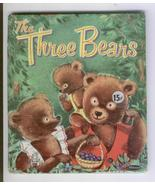 """Whitman Tell-a-Tale1955 """"The Three Bears"""" 2512:15 Suzanne - $6.99"""