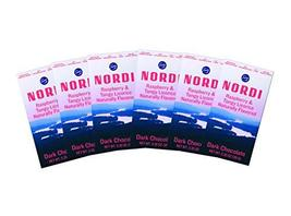 Nordi by Fazer Naturally Flavored Dark Chocolate Bars, Raspberry and Tangy Licor - $35.63