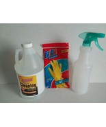 AWESOME CLEANING VINEGAR, BRILLO GLOVES & SPRAY BOTTLE - FREE SHIPPING - $28.04