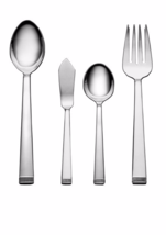 WEDGWOOD Vera Wang 5-pc  CHIME STAINLESS STEEL HOSTESS SET NEW - $49.49