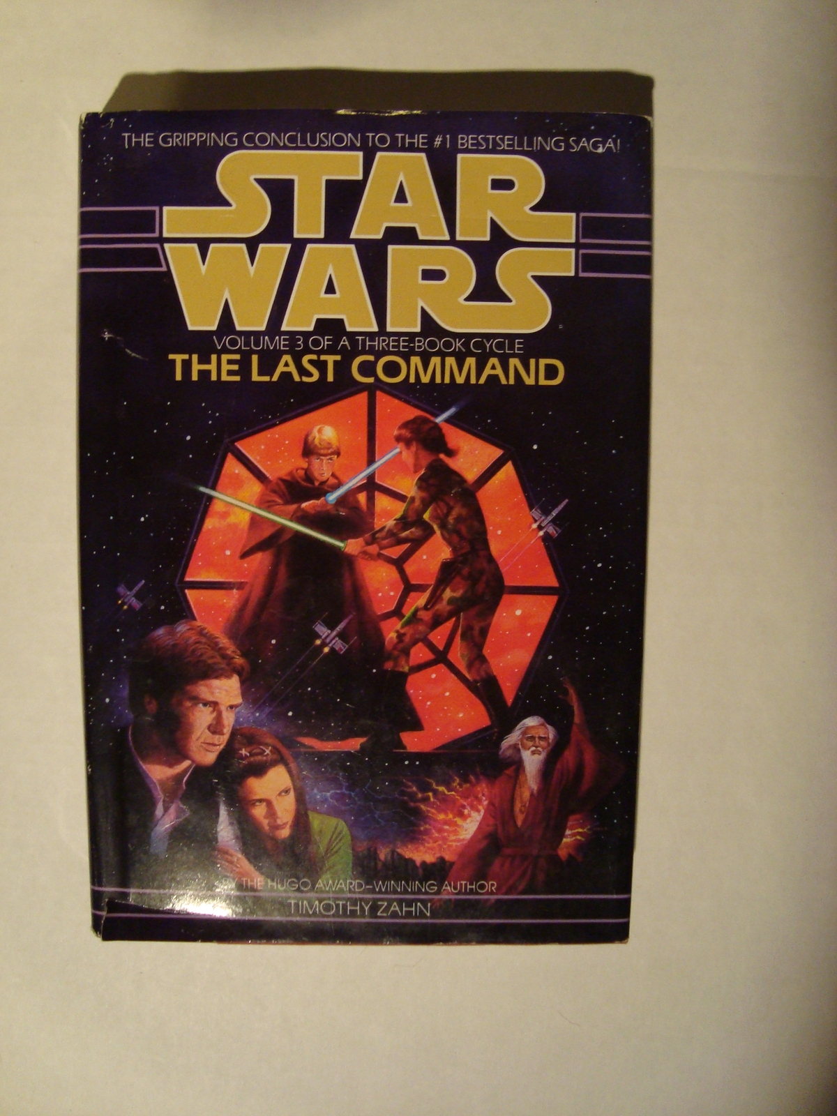 Star Wars The Last Command Volume 3 Timothy Zahn Hardcover 1993