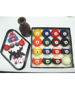 "2-1/4"" NEW Premium Billiard Pool Table Ball Set... - $47.95"