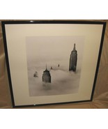 A New York Fantasy Castles in the Sky 1954 B&W Print LA Photo Factory Fr... - $499.99