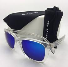 MARC By MARC JACOBS Sunglasses MMJ 335/S CRAZ0 Clear Wayfarer w/Blue Mir... - $59.99