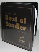 BEST OF SANDLER 16 CD  PRESIDENTS CLUB TRAINING $ SELL YOURSELF RICH In ... - $199.88