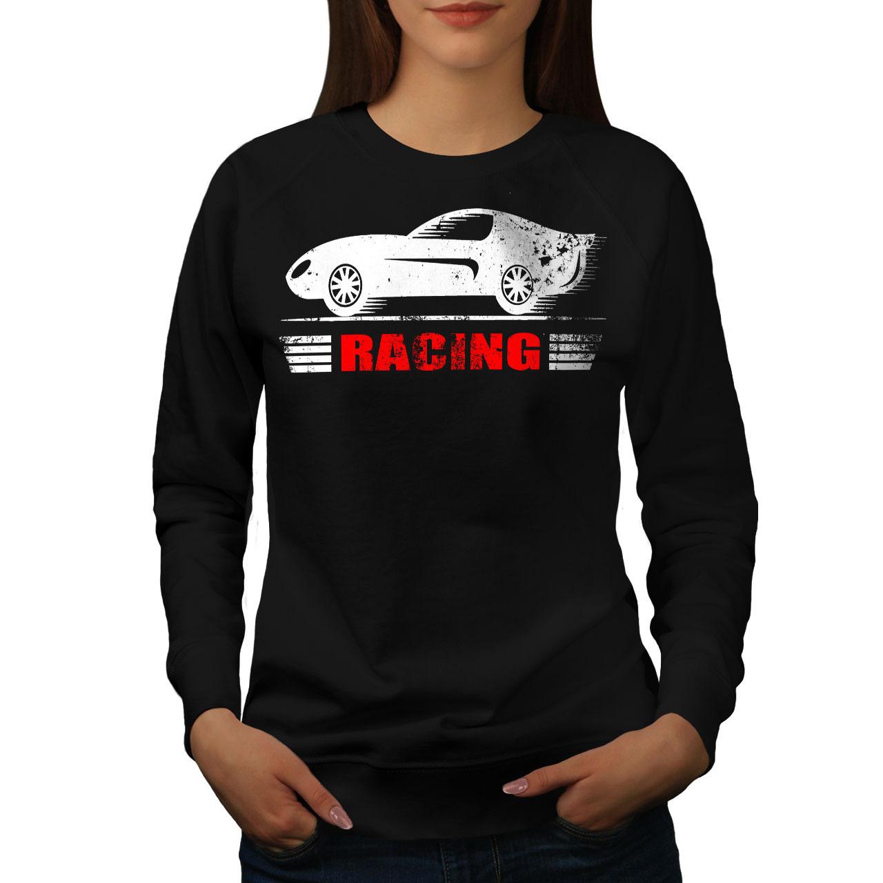 Speed Racing Jumper Car Women Sweatshirt - $18.99