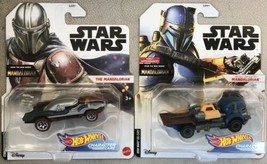 Star Wars Hot Wheels Character Cars Mandalorian & Heavy Infantry Mandalo... - $28.95