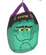 "Frankenstein Green & Black ""Kevin"" Halloween Candy Bag for Halloween Cos... - $14.14"