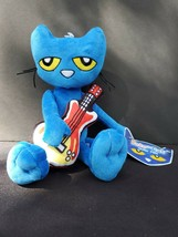 "Pete the Cat - Guitar Pete 11"" Plush Doll - NEW - Fast Free Shipping - $14.99"
