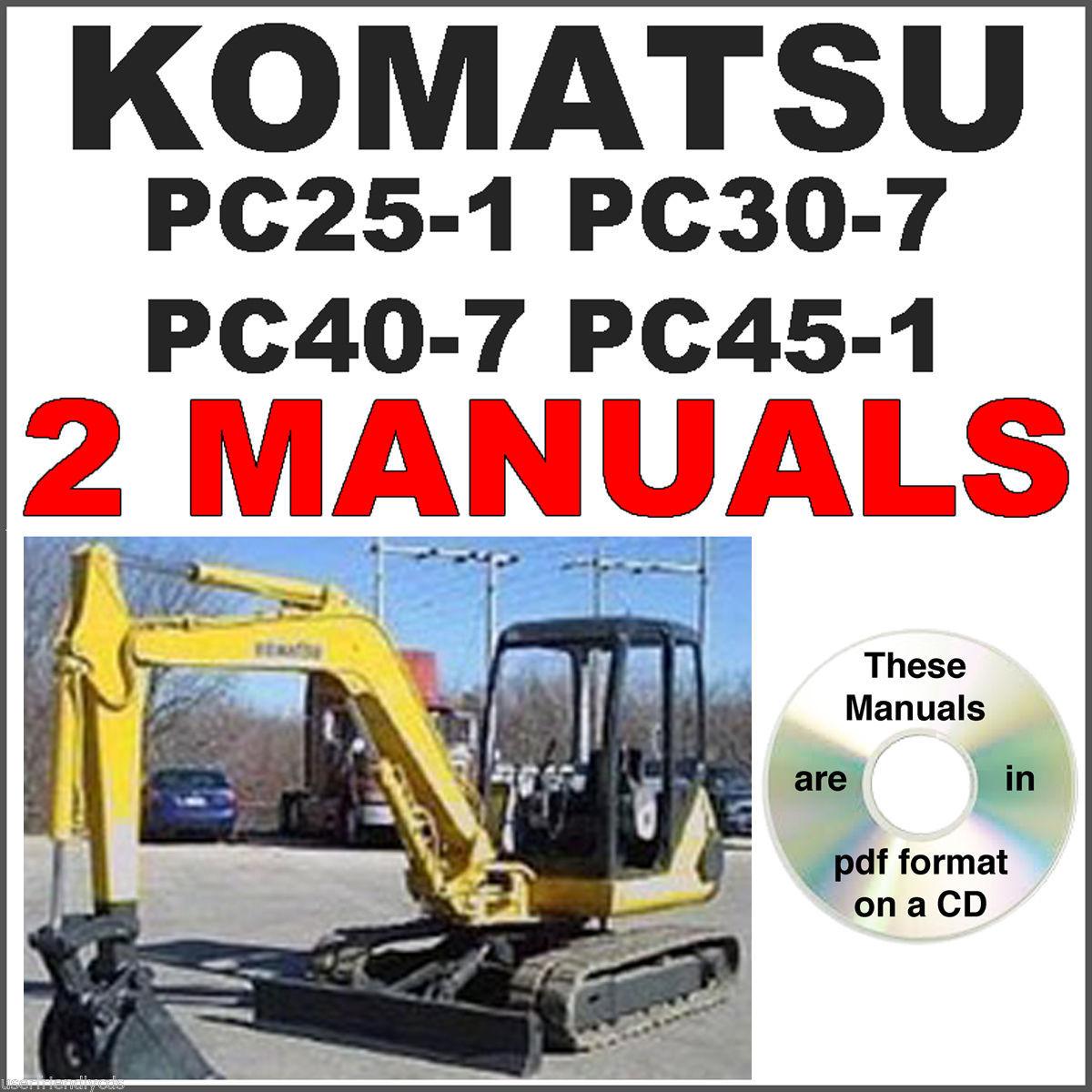 ... Array - komatsu pc25 pc30 pc40 pc45 service manual and 50 similar items  rh bonanza com