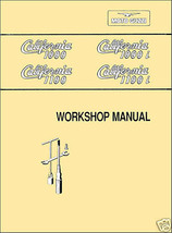 Moto Guzzi California 1000 1000i 1100 1100i SERVICE Shop MANUAL + BONUS CD image 1