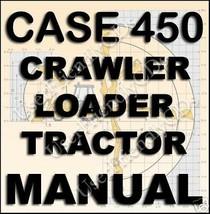 CASE IH 450 Backhoe Crawler Loader SERVICE Repair MANUAL Manuals CD image 1