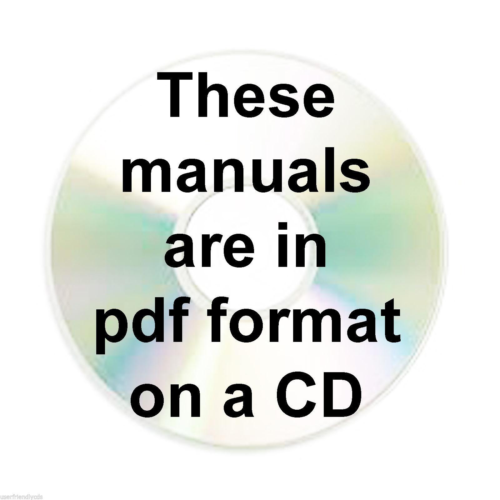 CASE IH 450 Backhoe Crawler Loader SERVICE Repair MANUAL Manuals CD image 2