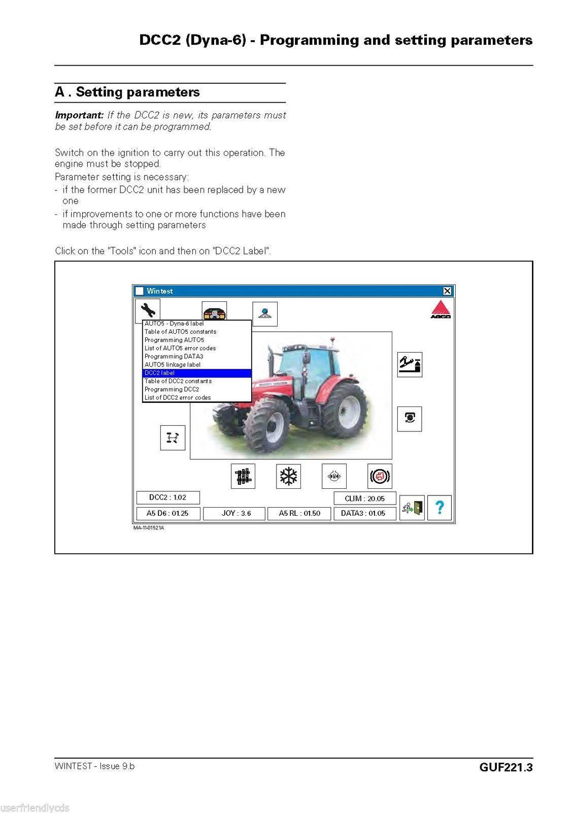 Massey Ferguson MF6465 MF 6465 Tractor SERVICE & PARTS Manual -2- MANUALS CD image 5